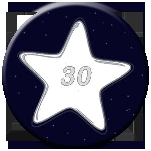 30 Tage - weißer Stern